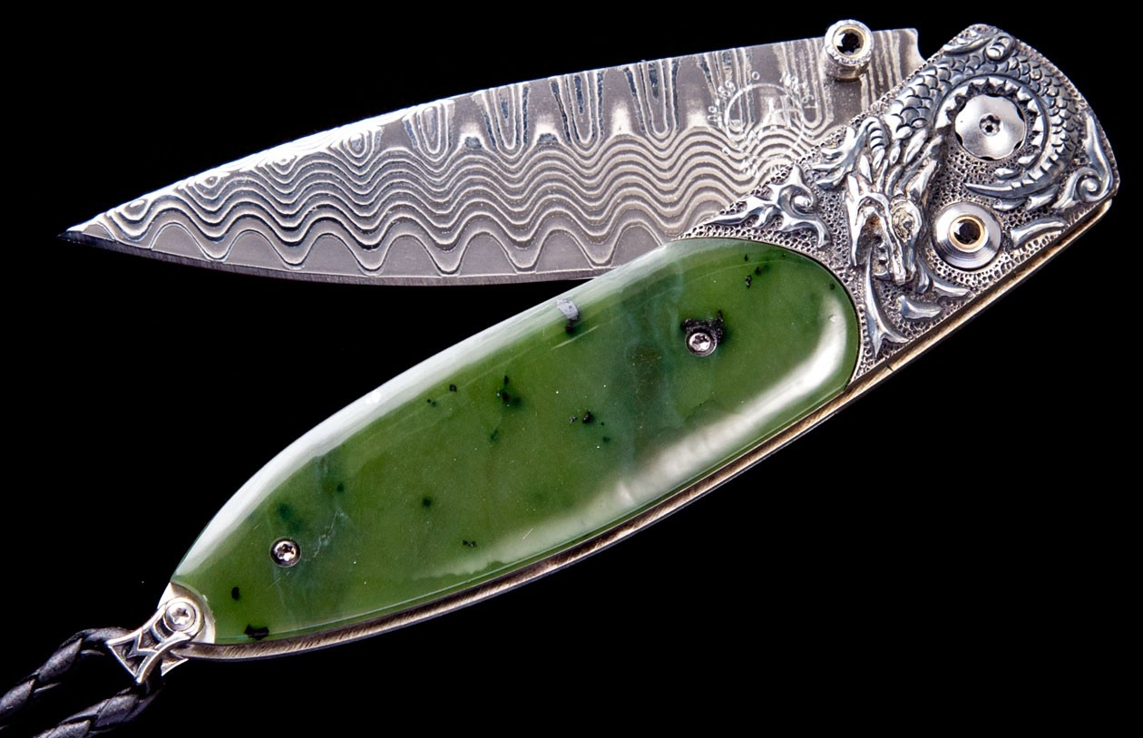 Monarch Emperor Luxury Pocket Knife - William Henry Knives - Gold Rush Fine Jewelry