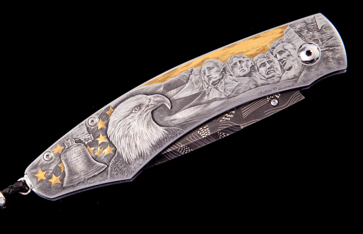 Spearpoint American Luxury Pocket Knife - William Henry Knives
