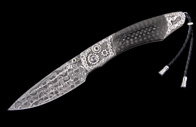 Spearpoint Chain Break Luxury Pocket Knife - William Henry Knives
