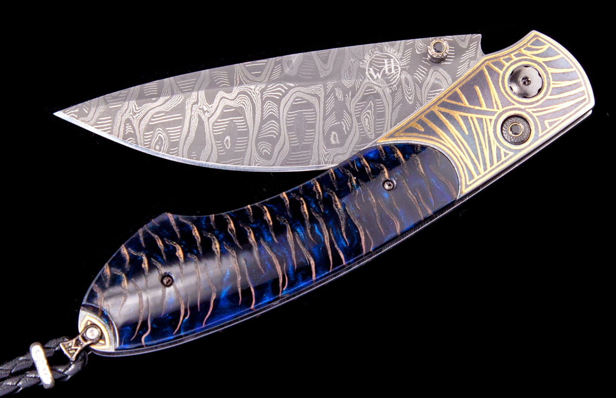 Spearpoint Glade Luxury Pocket Knife - William Henry Knives