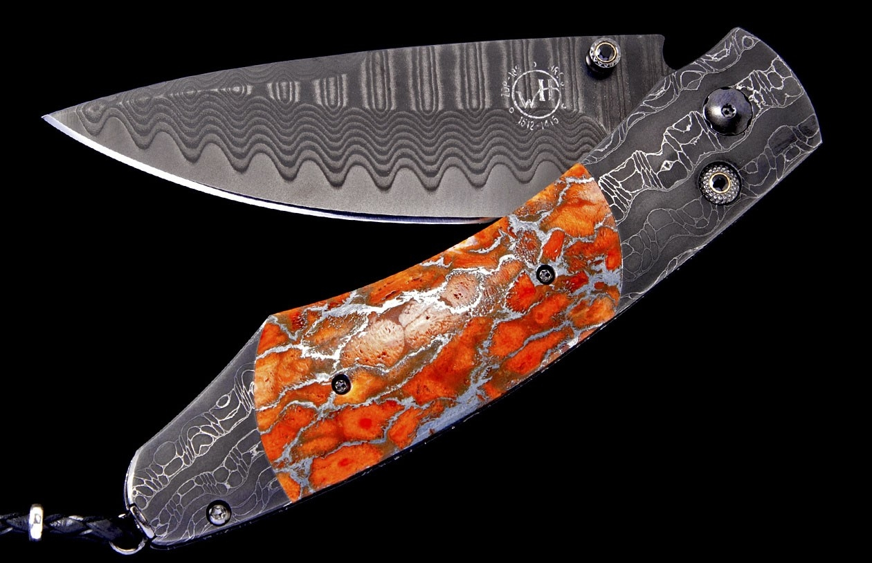 Spearpoint Sunset Luxury Pocket Knife - William Henry Knives