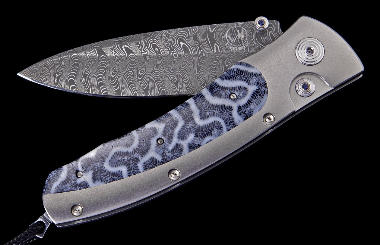 Rough Marlin Luxury Pocket Knife - William Henry Knives - Gold Rush Fine Jewelry